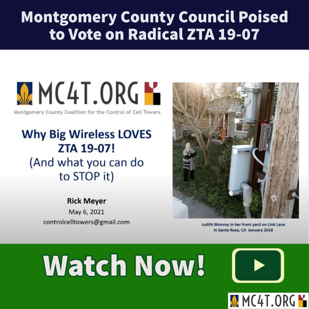 MoCo Broken Cell Rick Meyer Presentation Video